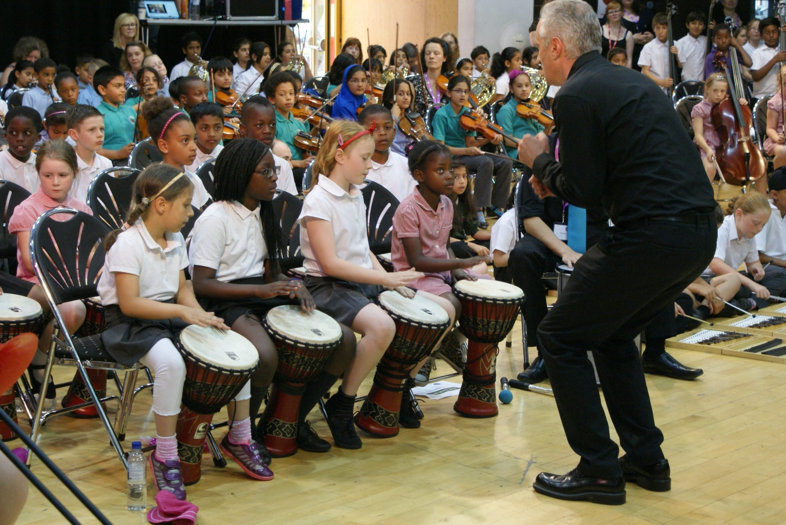 A participatory orchestral commission with Luton Music Service, Orchestras Live and CLS © Chris Lennon