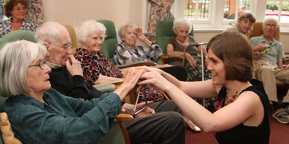 A Choir in Every Care Home includes a set of free resources to inspire and support care homes to engage with music