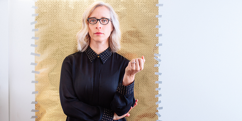 Laura Veirs' portrait for her 2018 album, 'The Lookout' © Jason Quigley