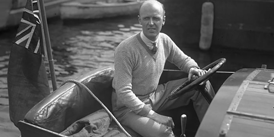 Sir Henry Segrave was the first person to hold a land-speed and water-speed record simultaneously