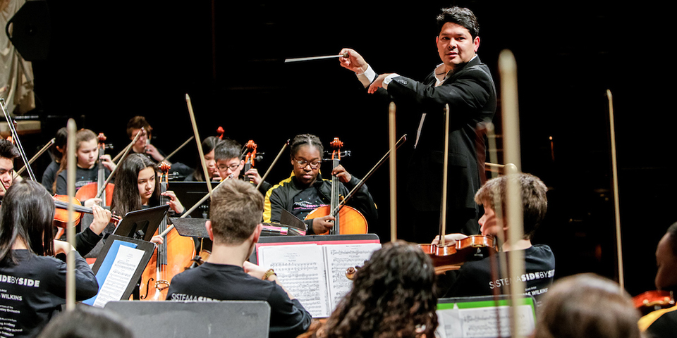 Longy 2018 Gala with special guest conductor Thomas Wilkins - 12 March, 2018 © Dan Busler