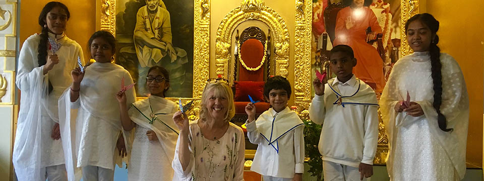 Ganapathy Temple London Peace event for One Day One Choir 2017