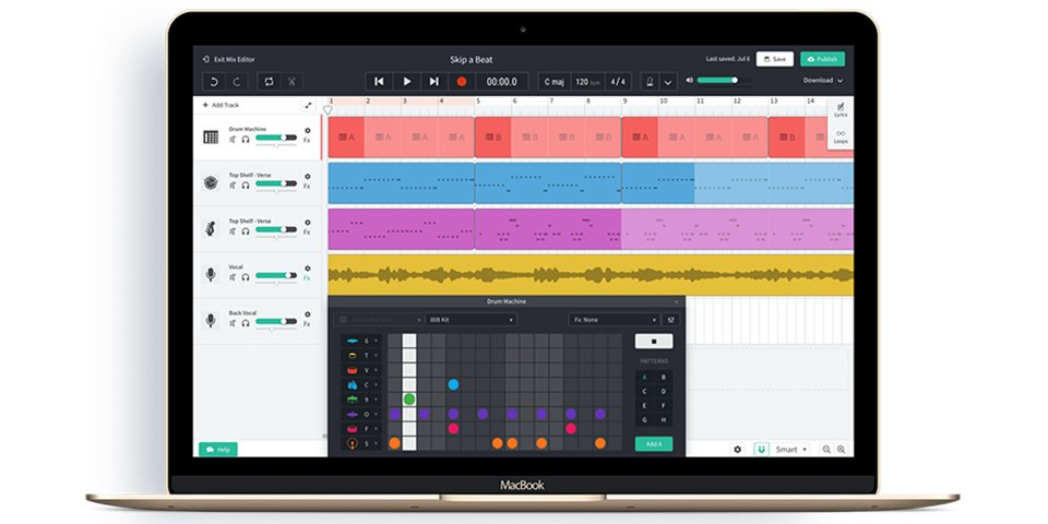 Bandlab for Education is an example of free cloud-based software