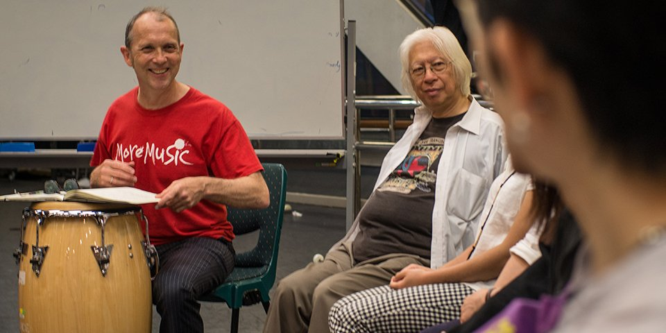 Remixing Community launches with Pete Moser in Hong Kong