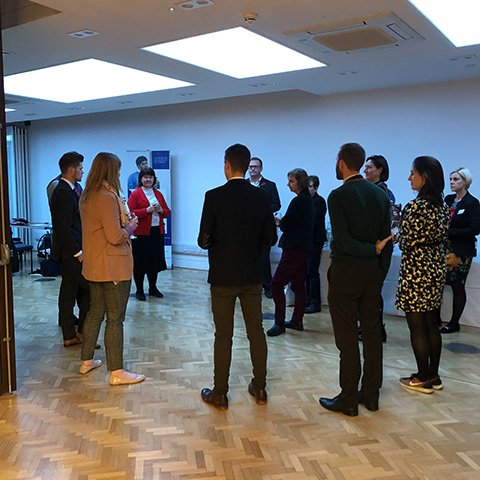 Music teachers at the launch of a Chartered College of Teaching Music Network