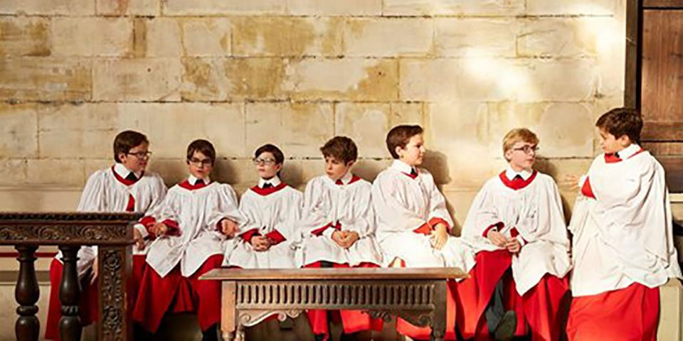 Choristers of King's College, Cambridge © King's College Cambridge
