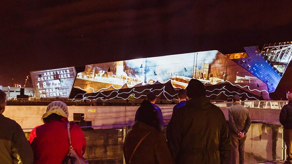 Made in Hull 2017, Arrivals and Departures - The Deep