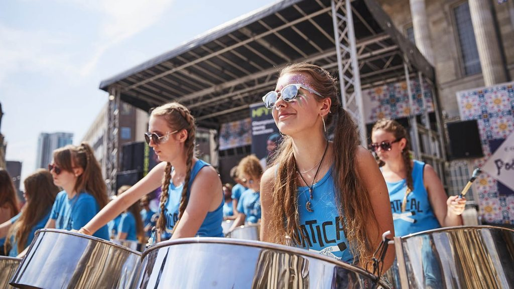 Music for Youth musicians at the 2018 National Festival © Music for Youth