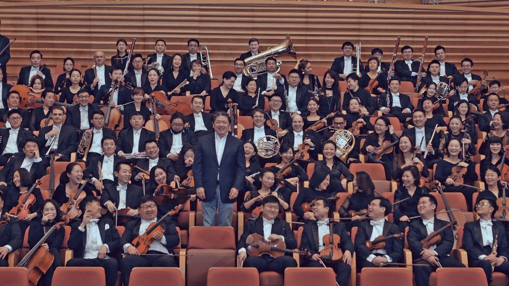 Shanghai Symphony Orchestra and Long Yu 2019 © SSO
