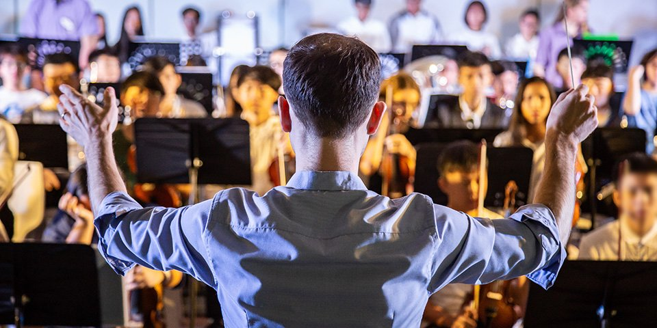 Band and conductor
