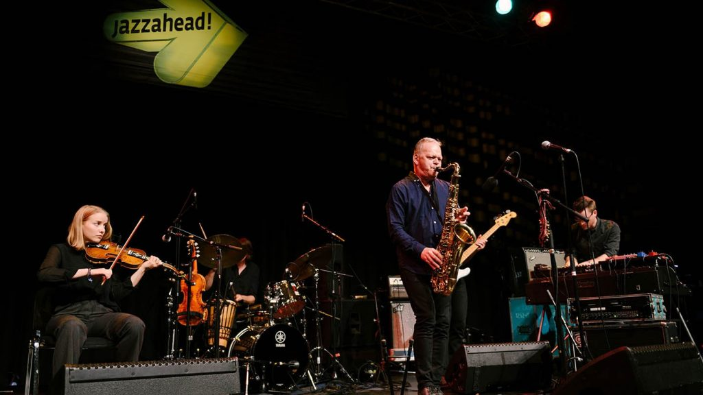 Norway was this year's jazzahead partner country – with the Karl Seglem Band performing at Norwegian Night © Jens Schlenker