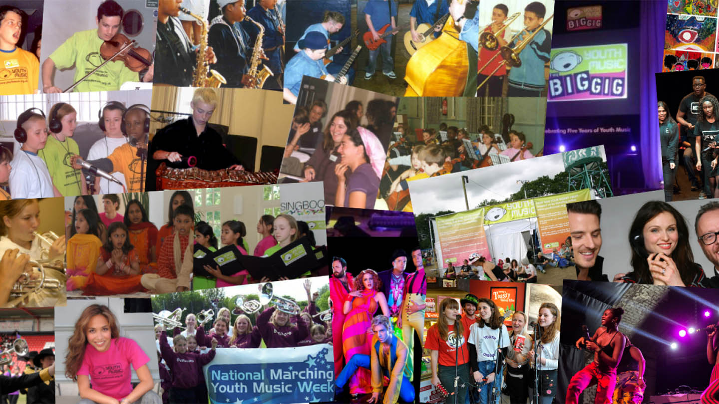 Photos from Youth Music-funded projects, 1999-2019