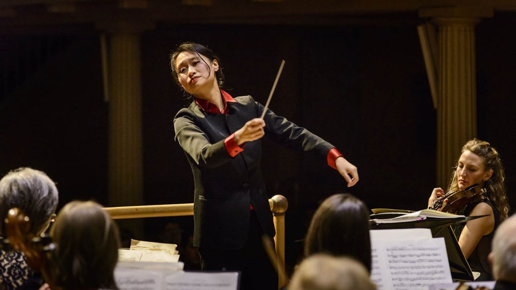 Tianyi Lu, Welsh National Opera's first Female Conductor in Residence © Antony Potts