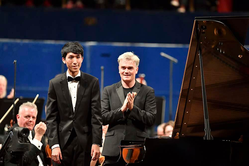 Eric Lu, winner of the 2018 Leeds International Piano Competition
