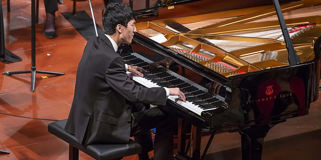 Leeds International Piano Competition 2018 - Eric Lu performs in the final
