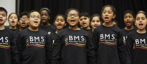 Young singers, Music for Youth Regional Festivals 2016