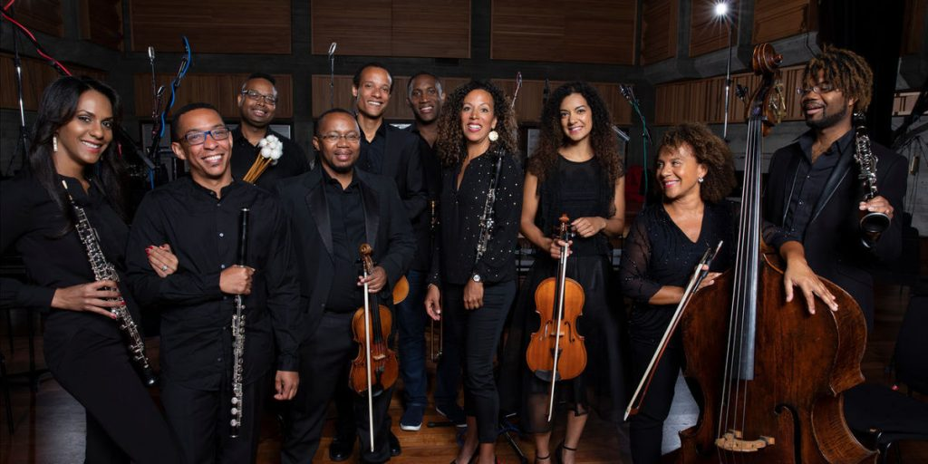 Members of the Chineke! orchestra