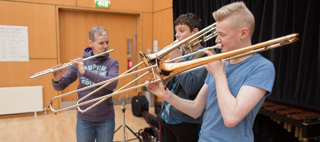 Orchestras for All Learning by Ear