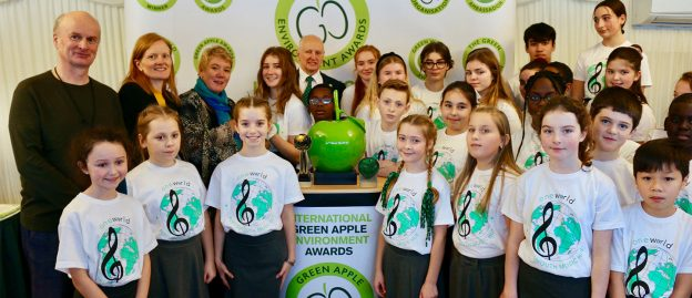 Portsmouth Music Hub Green Apple Award