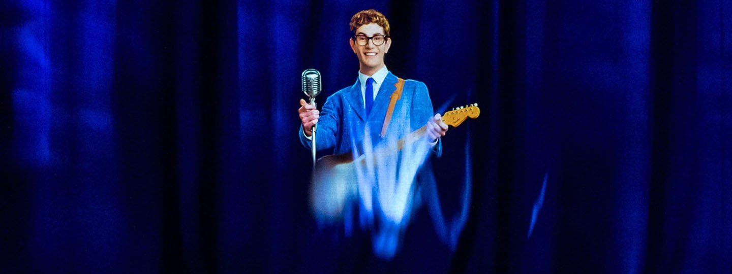Buddy Holly revived as a hologram for a show in Los Angeles © Jeff Minton for The New York Times