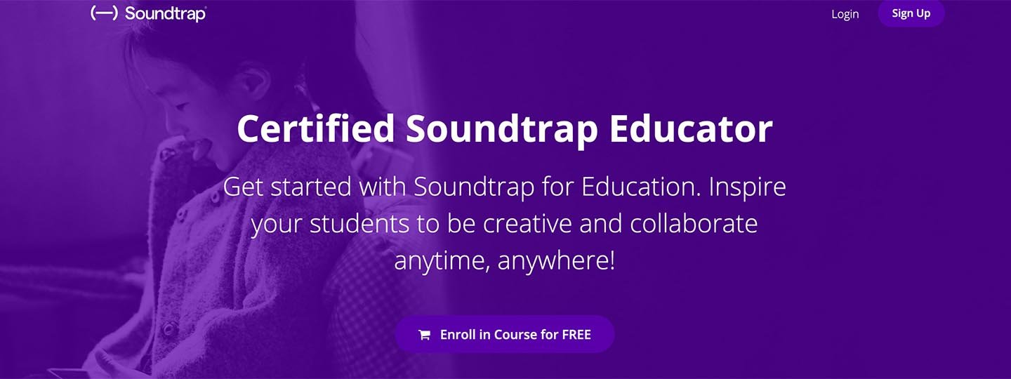Certified Soundtrap Educator