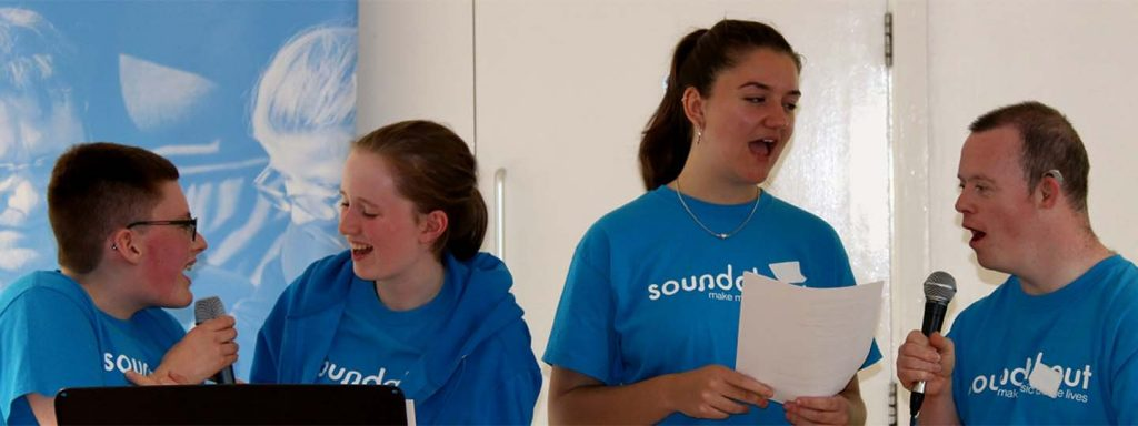 Members of Soundabout Inclusive Choir