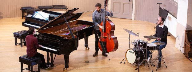 The Alan Benzie Trio at the Portfolio Pianist Seminar and Masterclass 2019 © St Mary's Music School