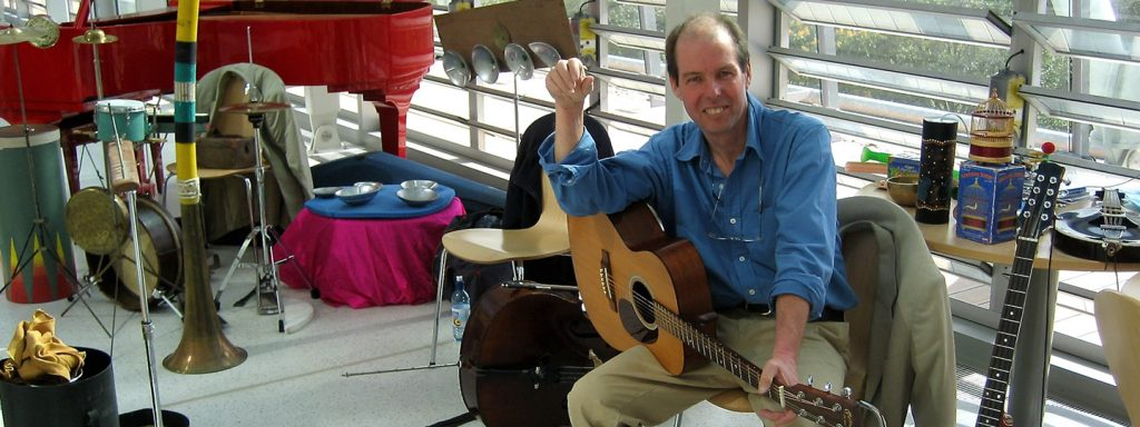 Humour, music and creativity with Steve Grocott