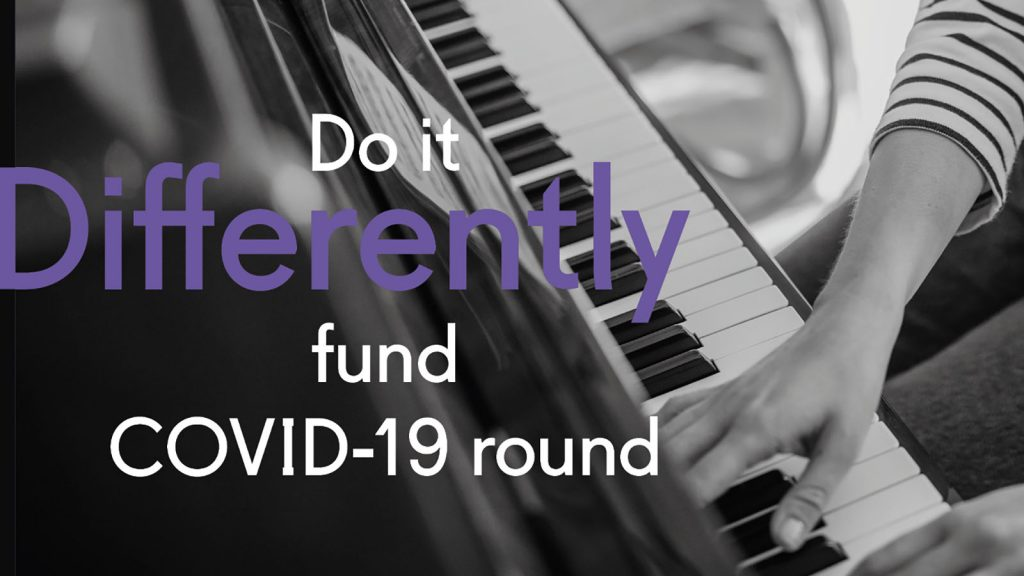 Help Musicians Do it Differently Covid-19 funding round