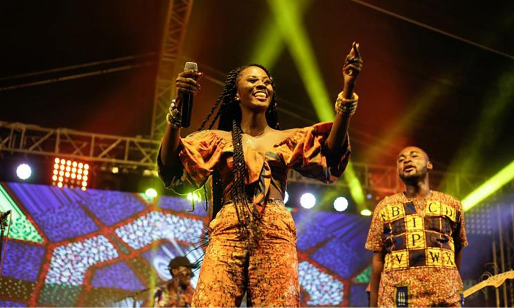 Ghanaian singer Cina Soul at Music In Africa Foundation's ACCES conference in 2019