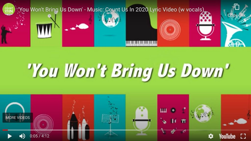 Music Count Us In 2020