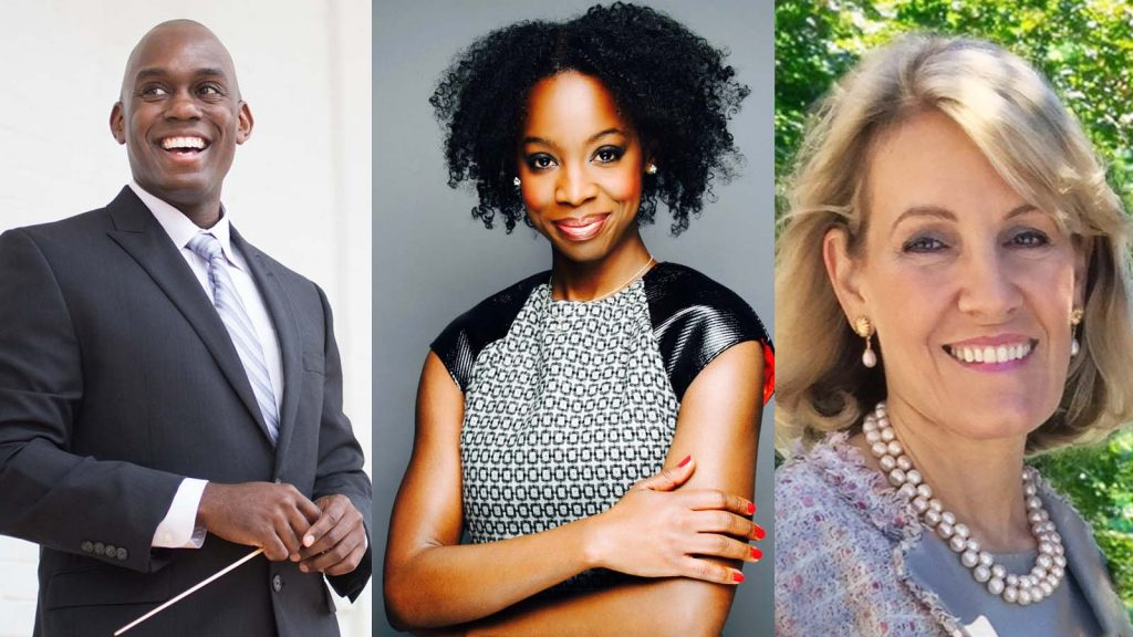 New Music USA board appointments Joseph Young, Aja Burrell Wood and Sue Wegleitner